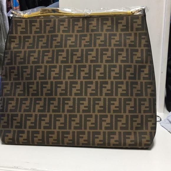 2f2296a341 Fendi Zucca Large hobo bag!